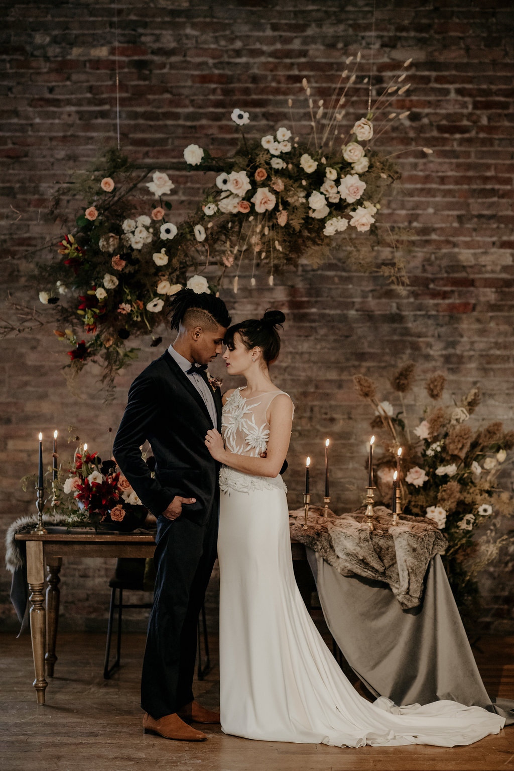 99 Sudbury, Barrie Wedding Planner, Wedding Designer, Elopement, Wedding Planner, Toronto Wedding Planner, Floral Backdrop, Romantic Elopement
