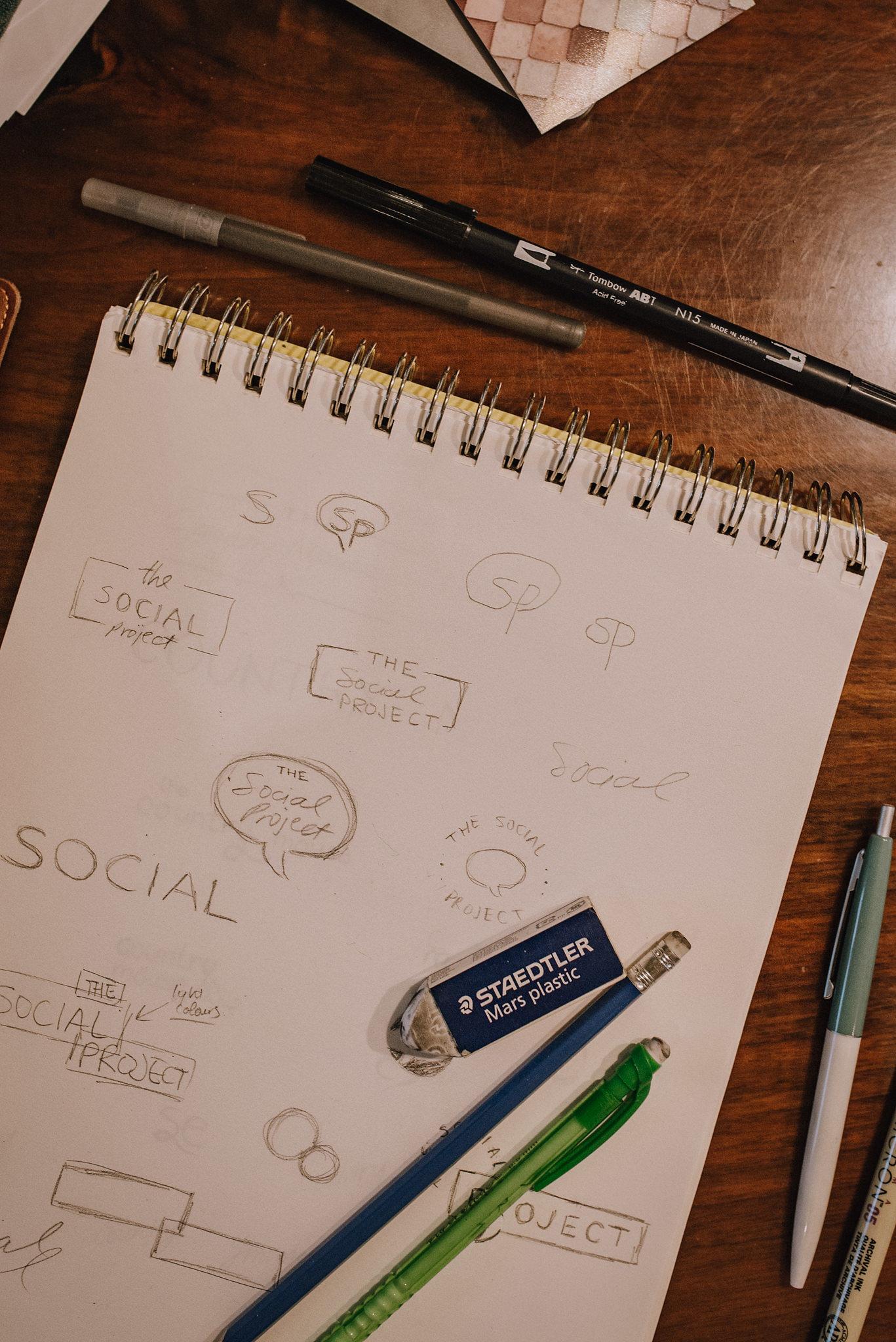 The Social Project, Barrie Social Project, Barrie Social, Branding, Social Media, Creative, Creative Collaboration, Girl Boss, Barrie Boss Babes, Entrepreneurs, Graphic Design, Mood Board, Branding Process, goats, baby goats
